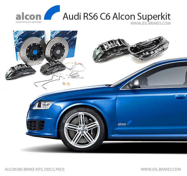 alcon brakes alcon superkit audi rs6 c6 4f. Black Bedroom Furniture Sets. Home Design Ideas