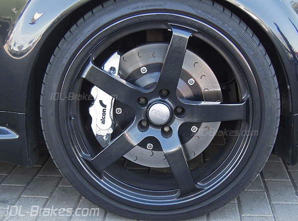 alcon brakes alcon kit fitted on audi rs6 c5. Black Bedroom Furniture Sets. Home Design Ideas