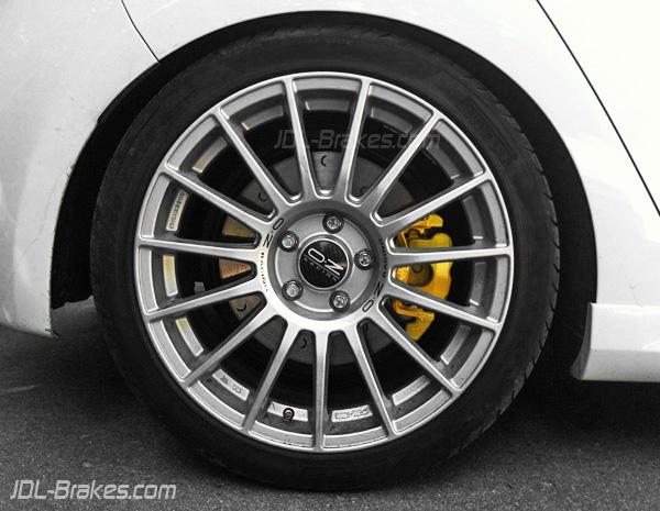 Alcon brakes: Golf R Mk6 with Alcon brakes