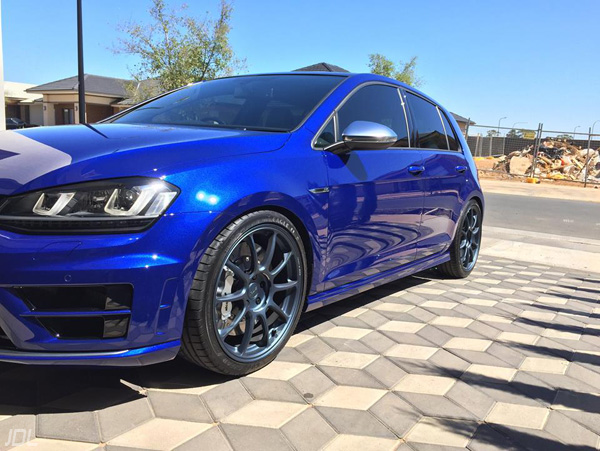 VW Golf R mk7 big brake kit RAYS ZE40