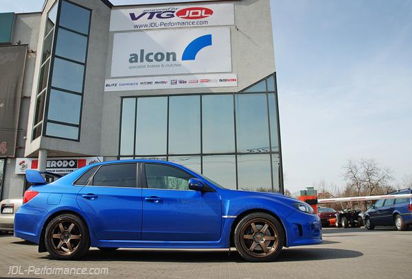 JDL-Performance Blog: TE37 na Subaru Impreza STI sedan